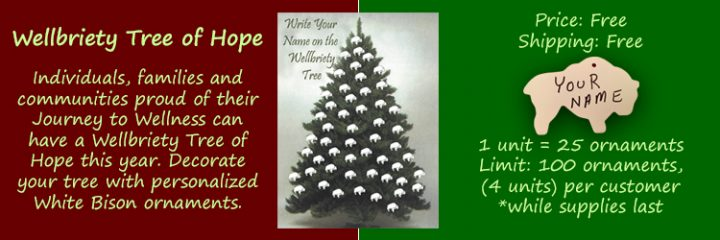 Wellbriety Tree of Hope Onaments